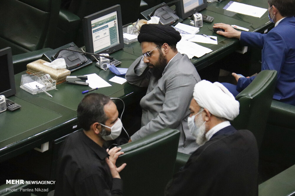 Open session of Iran's Parliament on Sunday