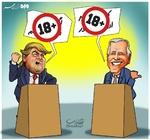 مناظره انتخاباتی ۱۸+