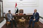 رایزنی برهم صالح با مشاور امنیت ملی عراق