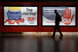 مخالفت مردم سوئیس با خروج از پیمان شنگن