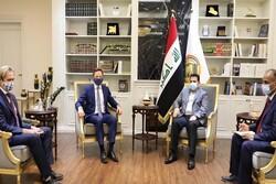 الأعرجي يستقبل السفير البريطاني لدى بغداد ستيفن هيكي