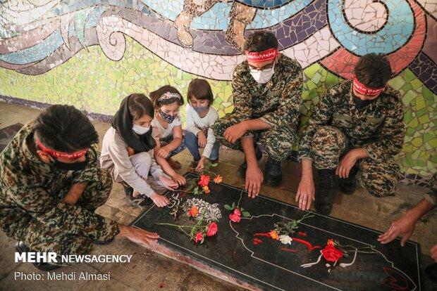 بازنمایی اعزام رزمندگان به جبهههای جنگ