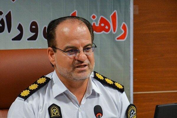 افزایش ۲۴ درصدی برخورد پلیس با تخلفات حادثهساز در کرمانشاه