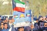 ابتکار شهروند کویتی برای اعلام حمایت از آرمان فلسطین