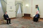 """روحاني : آية الله """"السيستاني"""" يضطلع بدور منقطع النظير في استقرار وأمن العراق"""