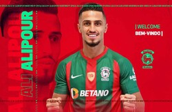 Ali Alipour officially joins Marítimo