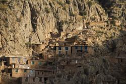 Uraman Village, beautiful stair-stepped village in W Iran