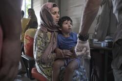 کودکان پناهنده کمپ موریا در یونان