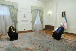 Iran eager to develop coop. with Oman in all fields