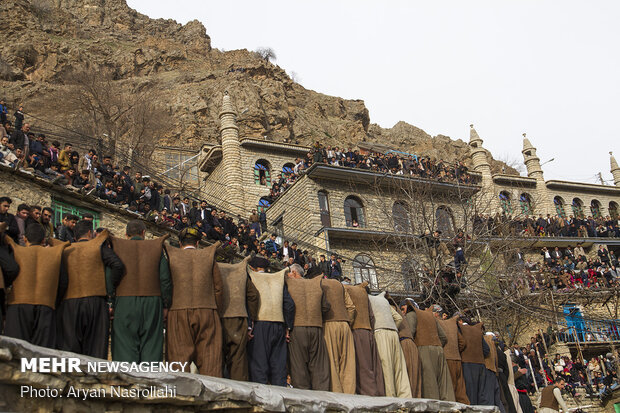 Uraman Village, beautiful stair-stepped village in W Iran