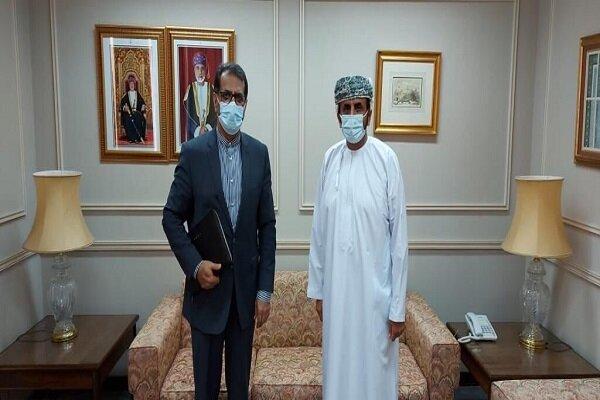 Iranian envoy meets Omani deputy FM