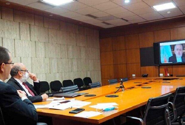 وزير الخارجية الإيراني يبحث مع نظيره الفنزويلي خطط التعاون المشترك بين البلدين