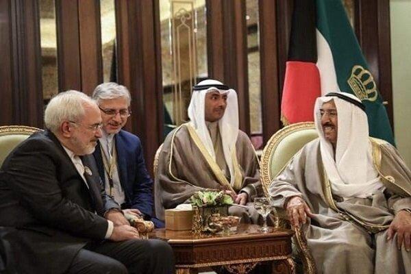 Zarif'ten Kuveyt Emiri'nin vefatı için başsağlığı mesajı