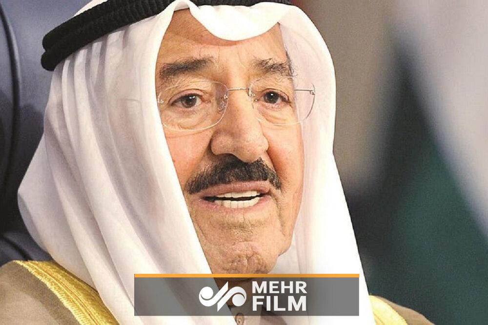 تلویزیون کویت رسما خبر درگذشت امیر کویت را اعلام کرد