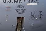 فرود اضطراری هواپیمای نظامی هرکولس آمریکا در اودسا