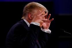 جۆ بایدن ڕوو لە دۆناڵد ترامپ ترامپ: دەمت داخە