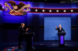 Biden says Trump embarrassed Americans around world