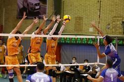 دیدار تیم های والیبال سایپا و شهرداری ورامین به تعویق افتاد