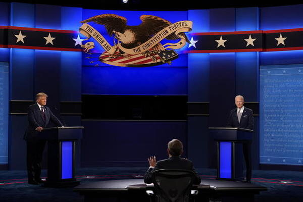Second US presidential debate cancelled