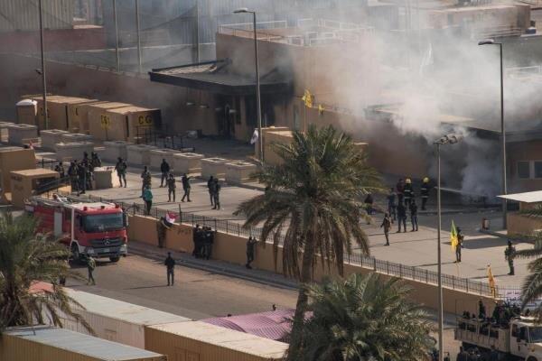 US Baghdad embassy comes under rocket attack (+VIDEO)
