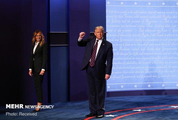 نخستین مناظره انتخاباتی ترامپ - بایدن
