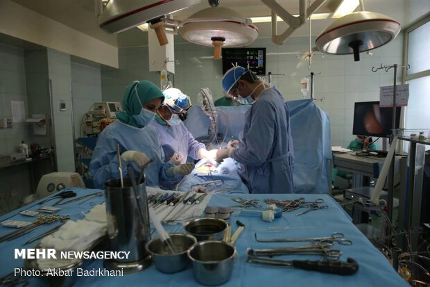 Open-heart surgery in Masih Daneshvari, Modarres hospitals
