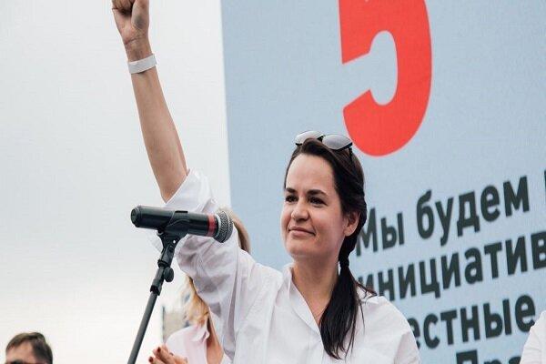 بلاروس حکم بازداشت رهبر مخالفان را صادر کرد