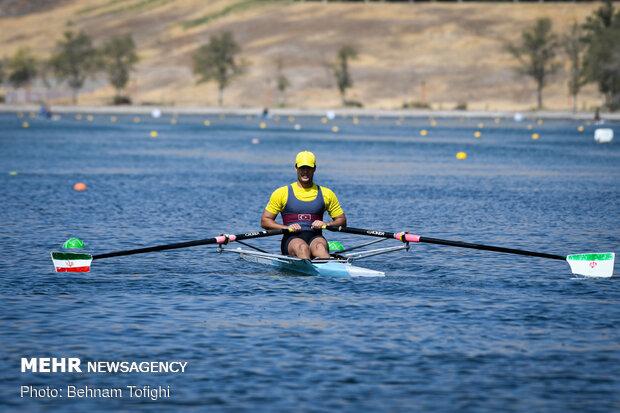 National rowing tournament held in Tehran