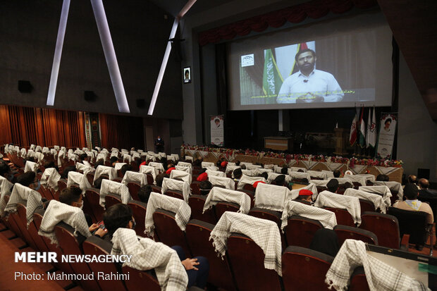 Tehran hosts 4th Palestine Children's and Youth Solidarity Su
