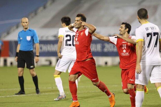 """هدف الإيراني """"عيسى آل كثير"""" الأفضل في أسبوع دوري أبطال آسيا"""