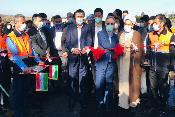 آیین بهره برداری از پروژه بهسازی کمربندی دوم تهران برگزار شد