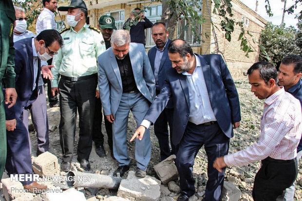 İran topraklarına düşen 3 havan mermisi 6 evde hasara yol açtı