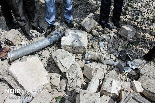 Mortar shells of Karabakh conflict injures Iranian child