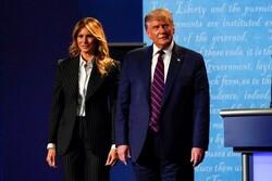 دونالد ترامب يعلن عن إصابته وزوجته ميلانيا بفيروس كورونا