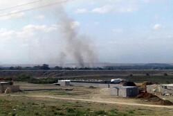 Karabağ'dan İran'a iki roket düştü