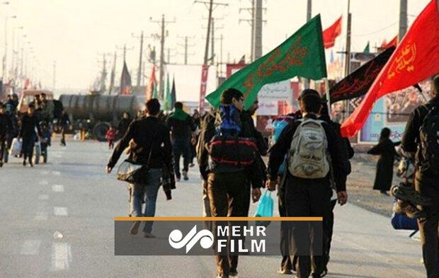 VIDEO: Iraqis commence Arbaʽeen Walk
