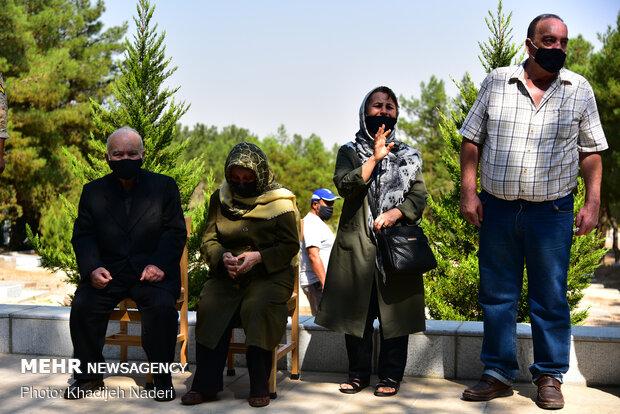 تشییع پیکر شهید هراچ هاکوپیان در اصفهان