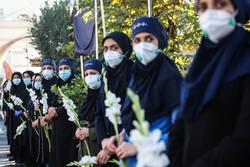 تشییع پیکر دومین شهید سلامت در فارس