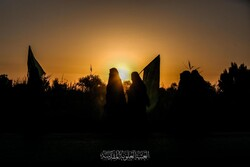 عراق میں سیدالشہداء کے چہلم کی مناسبت سے پیدل مارچ