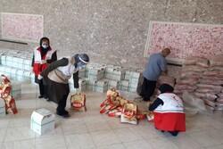 ۴۶۰ بسته معیشتی در مناطق کم برخوردار ری توزیع شد