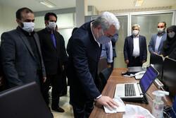 وزیر میراث فرهنگی از خبرگزاری مهر بازدید کرد