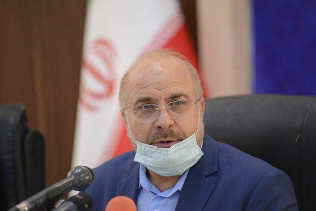 قاليباف: يجب على الدول الإسلامية عدم الإنصياع للعقوبات الأمريكية ضد إيران