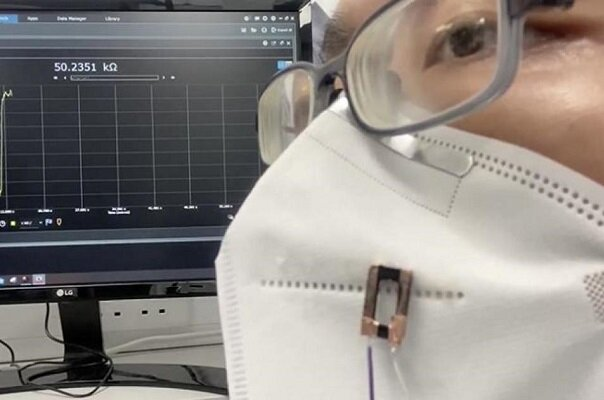 تولید فیبر سه بعدی برای شناسایی نشت ماسکهای طبی