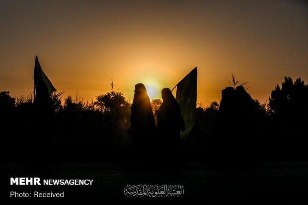 پیاده روی اربعین حسینی در عراق