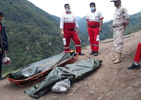 فوت ۲ برادر گردشگر اردبیلی در آستارا بر اثر سقوط به دره