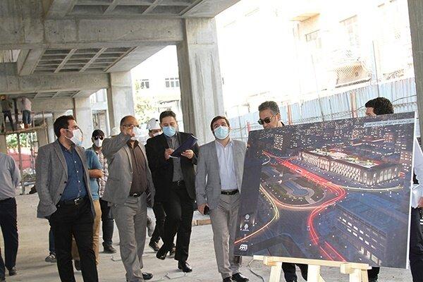پیشرفت ۴۵ درصدی عملیات اجرایی پروژه احداث ساختمان «خانه شهر»
