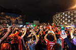 شادی هواداران پرسپولیس بعد از صعود به فینال