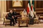 ظریف کی کویت کے نئے امیر اور وزیر خارجہ سے ملاقات