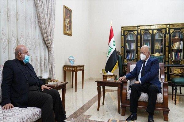 Iran, Iraq discuss strengthening of bilateral relations