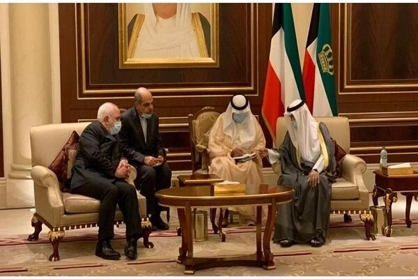 Bakan Zarif, yeni Kuveyt Emiri ile görüştü